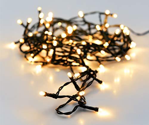 LED Netzbeleuchtung Gitternetz 50-160 LEDs Weihnachtsbeleuchtung innen und auß
