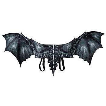 Reuvv Halloween Mardi Gras Disfraz Cosplay Demonio Dragón Alas ...