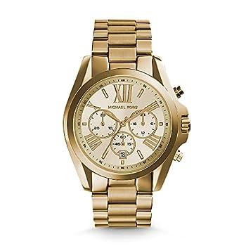 Guld Michael Kors Bradshaw ur til kvinder