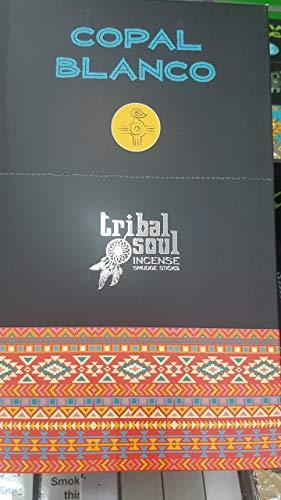 Hari Darshan 12x15g Tribal Soul Smoudge Sticks Copal Blanco