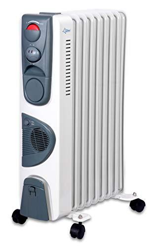 Suntec Radiator Heat Safe 2020 [voor ruimtes tot 60 m3 (~25 m2), 3 standen + snelverwarmingsventilator, lichtlopende wielen, 2000 watt]