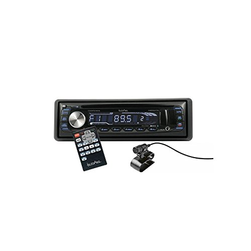 In fase IPS249BT autoradio met bluetooth-stereo-systeem 4x 60W (Front USB/AUX/verborgen SD-kaartlezer).