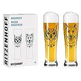 RITZENHOFF Brauchzeit #1 Set di Bicchieri da Birra frumento, Vetro