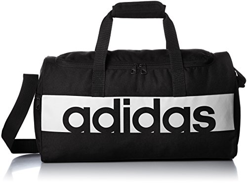 adidas Linear Performance Tasche, Black/White, 22 x 57 x 30 cm, M