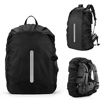 AVANA Housse de pluie pour sacs à dos avec bandes réfléchissantes (18-70 l) - Imperméable - Réflecteur - Sac à dos