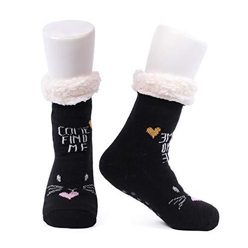 Conysan Gruesos cachemira lana calcetines de piso, casa abrigados calcetines de mujeres,...