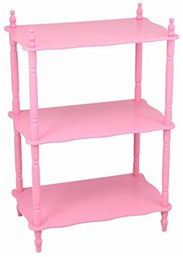 Frenchi Home Furnishing Kid's 3-Tier Shelves