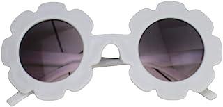 Springcmy - Gafas de sol para niños, protección solar UV400, para exteriores, diseño de flores