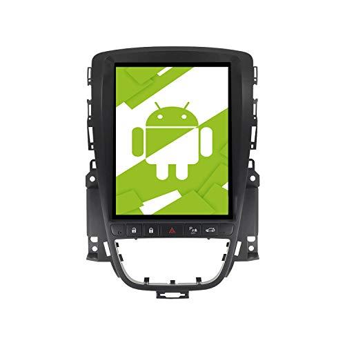 AOTSR 10,4 pollici Android 10.0 Autoradio, per Opel Vauxhall Holden Astra J 2010-2013, lettore HD DVD con display a schermo verticale, integrato DSP Carplay navigazione GPS Bluetooth WiFi
