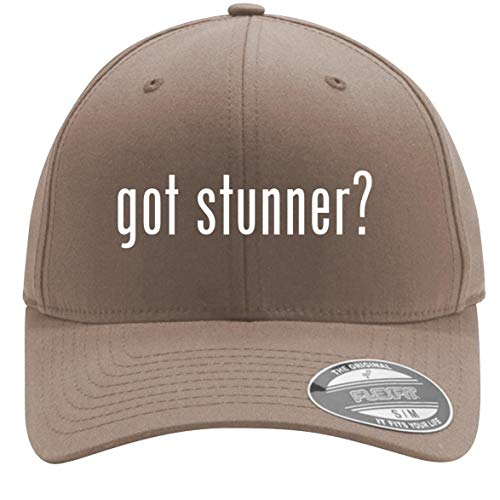 got Stunner? - Adult Men's Flexfit Baseball Hat Cap, Khaki, Small/Medium