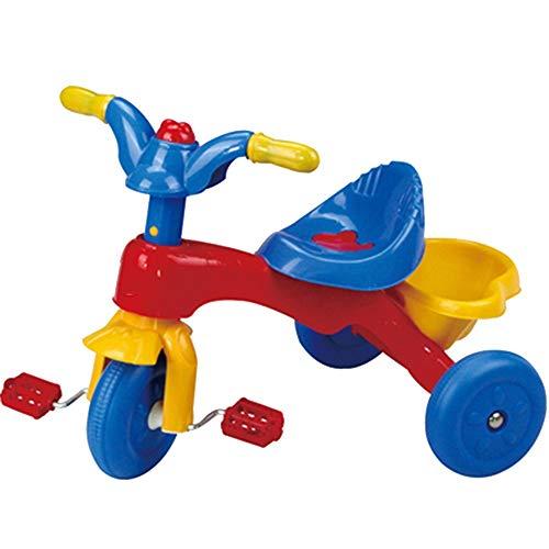 YummeIge Driewieler voor kinderen, met anti-slip pedaal, 1,5 – 5 jaar, verjaardagscadeau voor kinderen, Toddler Trike draagvermogen 20 kg Blauw