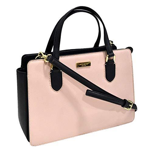 Kate Spade New York Reese Laurel Way Satchel/Shoulder Bag, Warm Vellum/Black, One Size