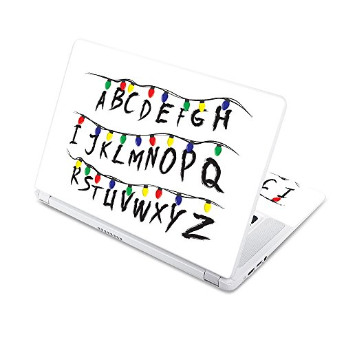 """MightySkins Skin Compatible with Acer Chromebook 15 15.6"""" (2017) - Stranger Alphabet 