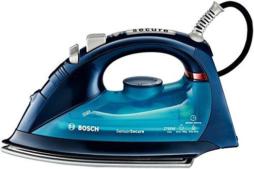 Bosch TDA5680 Ferro da stiro a secco e a vapore Blu, Metallico 2750 W