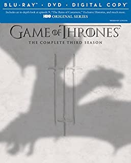 Game of Thrones: Season 3 [Blu-ray + DVD + Digital Copy] (B00C8CQTJY) | Amazon price tracker / tracking, Amazon price history charts, Amazon price watches, Amazon price drop alerts