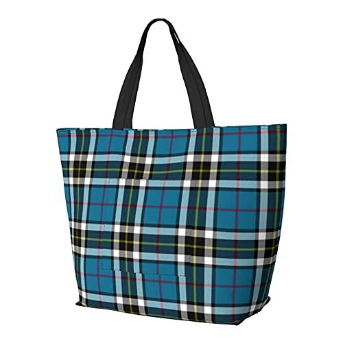 Thomson Thompson Mactavish - Bolsa de hombro multifuncional de gran capacidad, bolsa de trabajo, ligera, bolsa de viaje, bolsa de playa, para mujer