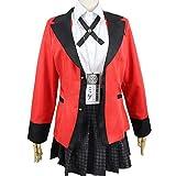 CHANGL Heiße Coole Cosplay-Kostüme Anime Kakegurui Yumeko Jabami Japanische Schulmädchen Uniform...