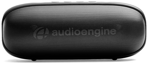 Audioengine 512 Portable Bluetooth Speaker | Outdoor Music System | Wireless Speakers Bluetooth, 20W Powered Portable Speaker, 100 Ft Wireless Range, 12 Hour Battery Life (Black)