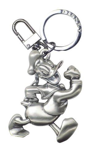 Disney Donald Duck Pewter Keyring,Silver