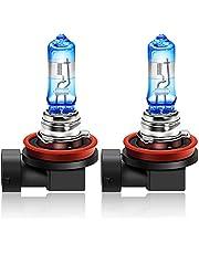WinPower +20% białe światło halogenowe reflektor żarówka światła dzienne światła przeciwmgielne samochód motocykl DRL, 2 lampy