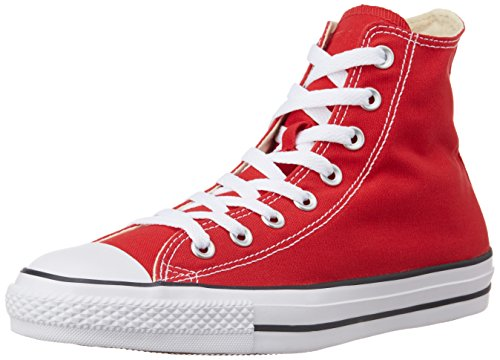 Converse Unisex Canvas Sneakers_Red_3 UK / 4 US(150762C)