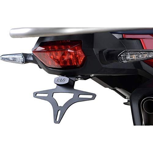 Motodak Support de Plaque R&G Racing Noir Honda Africa Twin Adventure Sport