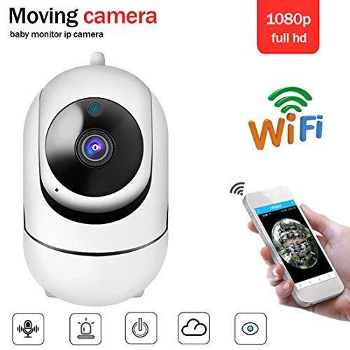 Überwachungskamera HD 1080P IP-Kamera 360-Grad-Kamera Babyphone Audio-Nachtsicht-Netzwerk WiFi-Kamera Zwei-Wege-Audio, Alarm, Verschlüsselung