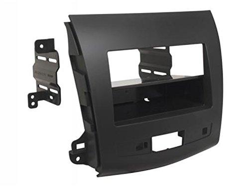 Price comparison product image Scosche MI3015B Compatible with 2007-13 Mitsubishi Outlander ISO Double DIN & DIN+Pocket Dash Kit Black