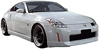 KBD Body Kits Compatible with Nissan 350Z 2006-2008 ING Style 1 Piece Flexfit Polyurethane Front Lip. Extremely Durable, Easy Installation, Guaranteed Fitment, Made in the USA!
