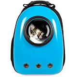 Best Choice Products Pet Carrier Space Capsule Backpack,...