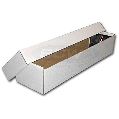 BCW 1-BX-802 Caja de almacenamiento de 800 unidades (2 piezas)