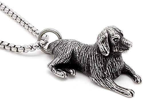 CCXXYANG Co.,ltd Collar Restoring Ancient Ways Pet Dog Collares Pendientes De Acero Inoxidable Hombres Mujeres Collares 60Cm