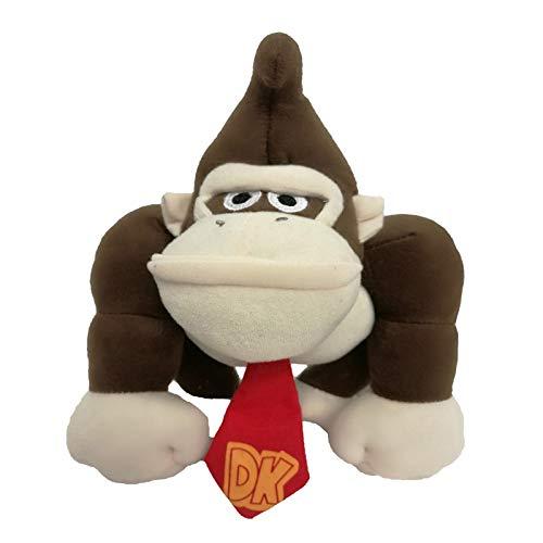 2017 gratis verzending Super Mario Bros. 8.5in / 20cm Donkey Kong knuffel Monkey Nintendo gevulde pop