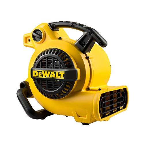 デウォルト(DEWALT) 送風機 業務用 小型 強力 エアムーバー 工場扇 工業 扇風機 床置型 フロア扇 空気循環 乾燥 3段階風量 DXAM0060