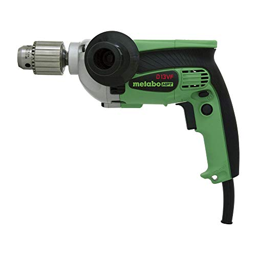 Metabo HPT Drill | 1/2-Inch| Corded | 9-Amp | 0-850 Rpm | Variable Speed Trigger | Form Fit Palm Grip | Contractor-Grade Cast Aluminum Gear Housing | Belt Hook | 5-Year Warranty | D13VF