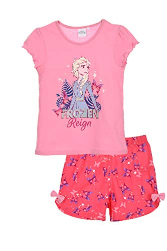 Pijama de la Reina del Hielo 2 para niña Rosa 104 cm