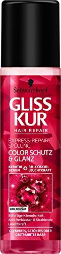 SCHWARZKOPF GLISS KUR Express-Repair-Spülung Color Schutz & Glanz, 200 ml