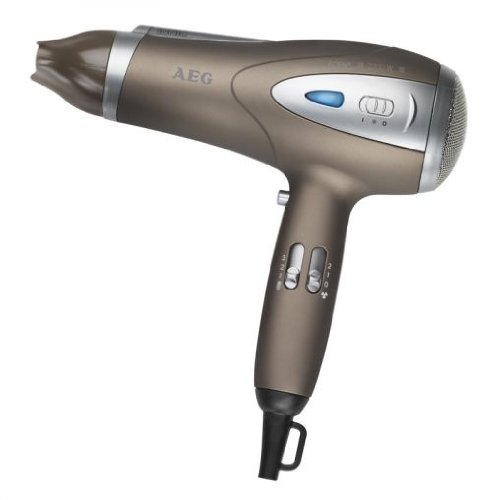 Ionen Haartrockner Föhn 2200 Watt (Style-Fix, schneller und effektiver Haar-Fön mit Diffuser, braun)