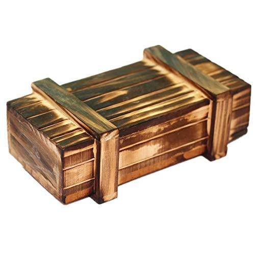 Caja mágica de madera con cajón secreto seguro adicional