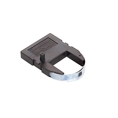 Pyramid Time Systems 4000R Genuine Replacement Ribbon for 3000HD, 3500, 3700, 4000, 4000HD Time Clocks, Black, lasts 60% longer than Compatible Replacement ribbon, 9.84ft. ribbon length (PTI4000R)