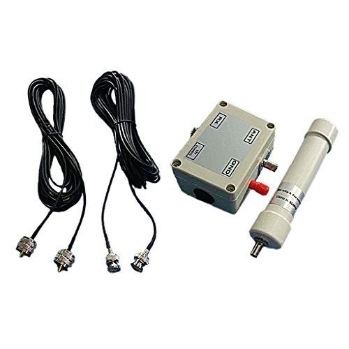 Prettyia Aktive Antenne In Box HF LF VLF, Mini Whip Aktive Antenne HF LF VHF SDR RX 10 kHz 30 MHz 12 15 V Mit Tragbarem Kabel BNC