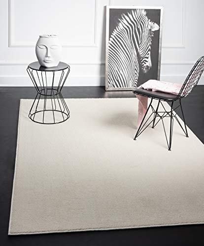 Mia´s Teppiche Emma - Alfombra de salón, Pelo Corto, 17 mm, 160...