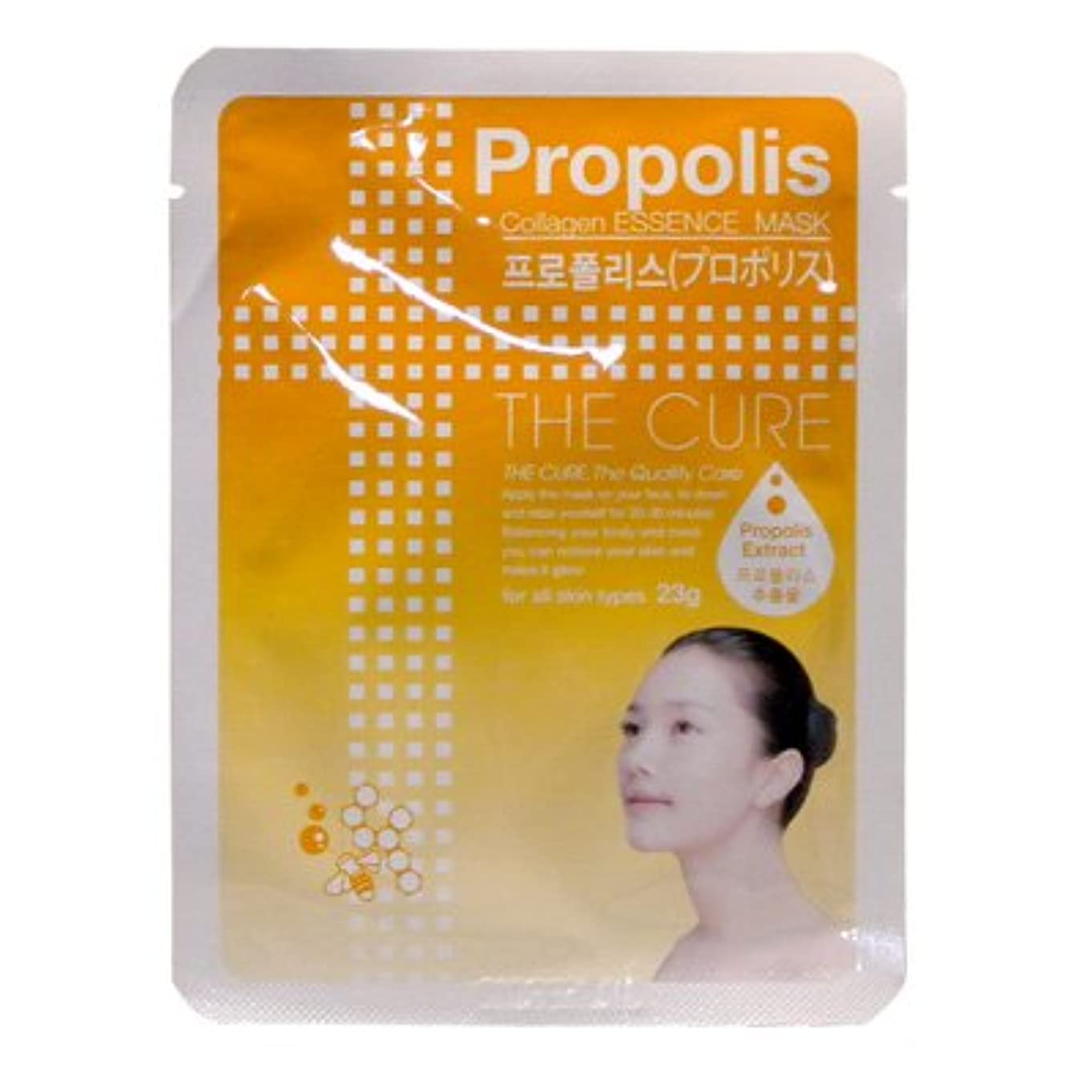 儀式ニンニク消毒剤CURE マスク シートパック プロポリス