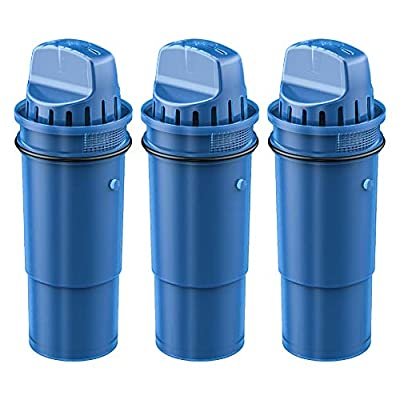 Waterdrop CRF-950Z Pitcher Water Filter, Compatible with Pur Pitchers and Dispensers PPT700W, CR-1100C, DS-1800Z and More, Pack of 3
