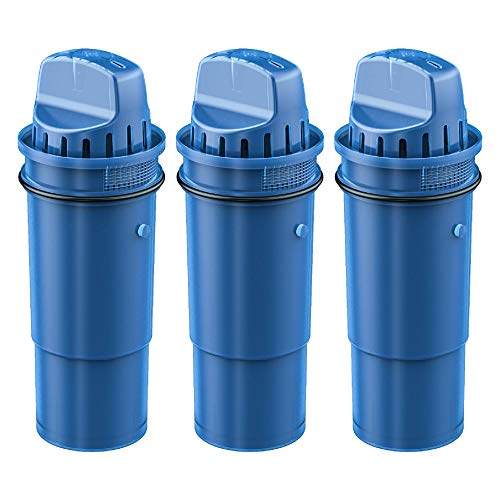 Waterdrop NSF Certified CRF-950Z Pitcher Water Filter, Compatible with Pur Pitchers and Dispensers PPT700W, CR-1100C, DS-1800Z and PPF951K, PPF900Z Water Filter, Pack of 3