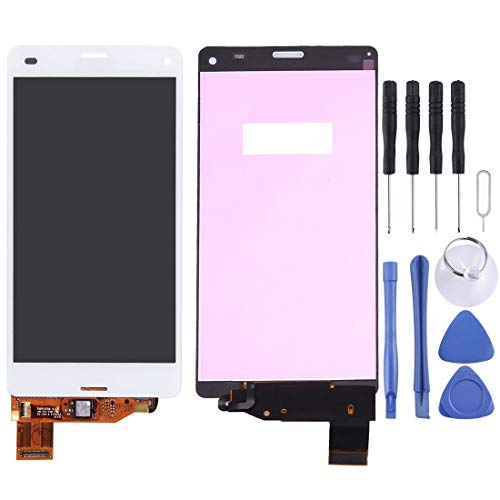 WEIHONG Nueva Pantalla LCD Mobilel + Panel táctil For Sony Xperia Z3 Compact / M55W / Z3 Mini (Negro) (Color : Blanco)