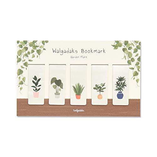 Monolike Magnetic Bookmarks Garden Plant, Set of 5
