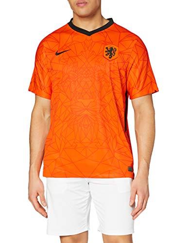 Nike Netherlands 2020 Stadium Home Teamtrikot Safety Orange/Black XL