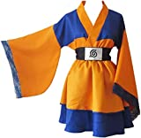 SD-TEC Akatsuki Uchiha Itachi Lolita Vestidos Kimono Mujeres Vestido Anime Cosplay Naruto Disfraces Niña Vestido de Moda