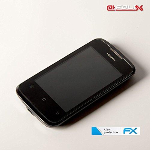 atFolix Schutzfolie kompatibel mit Huawei Ascend Y200 Folie, ultraklare FX Displayschutzfolie (3X) - 6